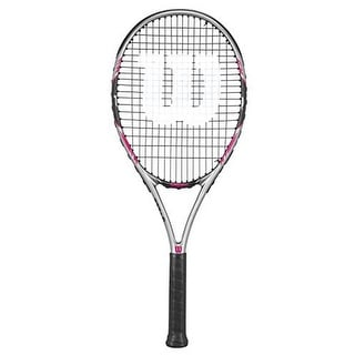 Wilson Womens Hope Lite 103 Racket, Grey/Black/Pink, 4.25