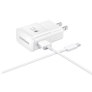 Link to Samsung Wall Fast Charger USB Type C Cable for Galaxy Note 8 - White - 3.5 x 2 x 2 Similar Items in Cell Phone Accessories