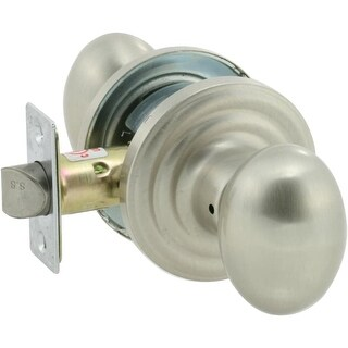 EZ-Set 102R-AN Traditional Collection Ansley Series Grade 2 Privacy Door Knob Set