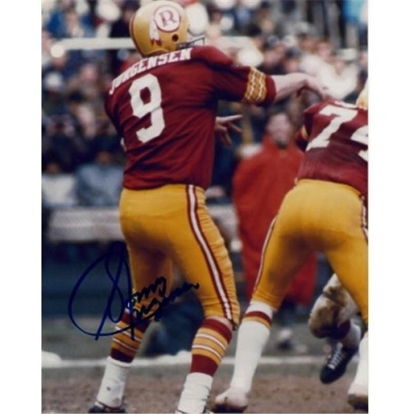 fd9cf03636d Shop Sonny Jurgensen Signed - Autographed Washington Redskins 8 x 10 in -  Free Shipping Today - Overstock - 23855807