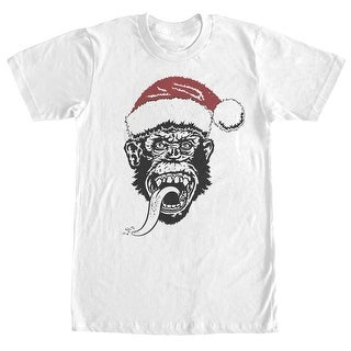 Gas Monkey Santa Monkey Christmas Red Had Men's T-Shirt