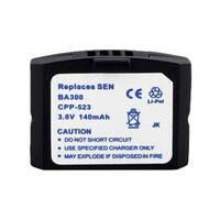 Battery for Sennheiser BA300 (Single Pack) Replacement Battery