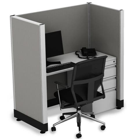 Office Cubicle Desk 53H Unpowered