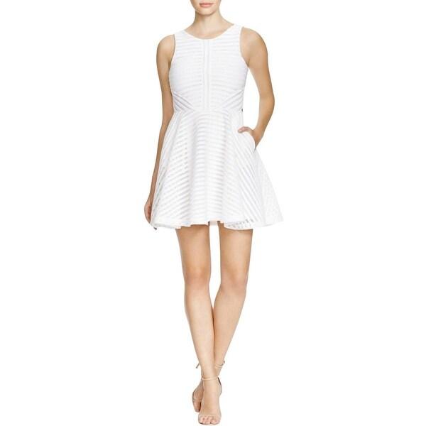 Guess Womens Casual Dress Asymmetric A-Line