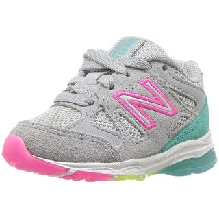 New Balance Girls KJ888SGG Low Top Lace Up Running Sneaker