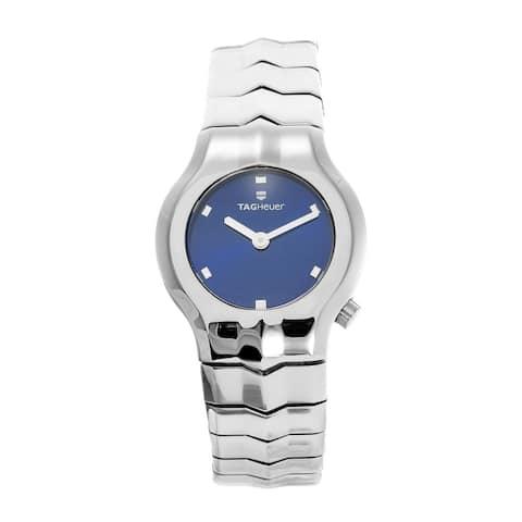 Tag Heuer Women's WAA1410.BA0760 'Alter Ego' Stainless Steel Watch - Blue