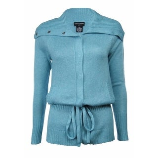 Sutton Studio Women's Loungewear Silk & Cashmere Anorak Cardigan
