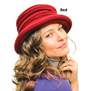 """Women's Handcrafted Fashionable Cloche Hat - Soft Wool Knit - 3"""" Brim (Option: camel)"""