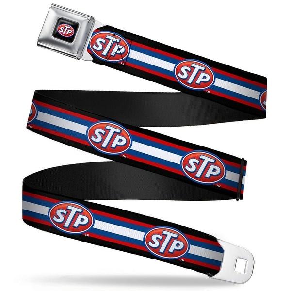 Stp Logo Full Color Stp Logo Stripe Black Red White Webbing Seatbelt Belt Seatbelt Belt