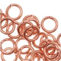 Genuine Copper Open Jump Rings 5mm 19 Gauge (50)