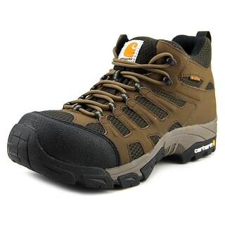 Carhartt Lite Wt Mid Hkr Men Steel Toe Leather Brown Hiking Boot