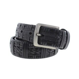 Tommy Bahama Mens Leather Woven Casual Belt - 38
