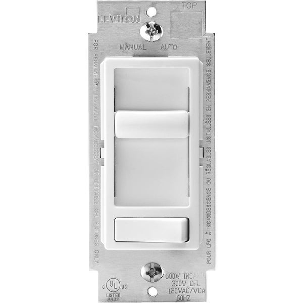Leviton Wh Sp/3W Univ Dimmer