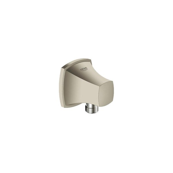 "Grohe 27 708 Chrome Allure Brilliant Wall Supply Elbow 1//2/"" Connection"