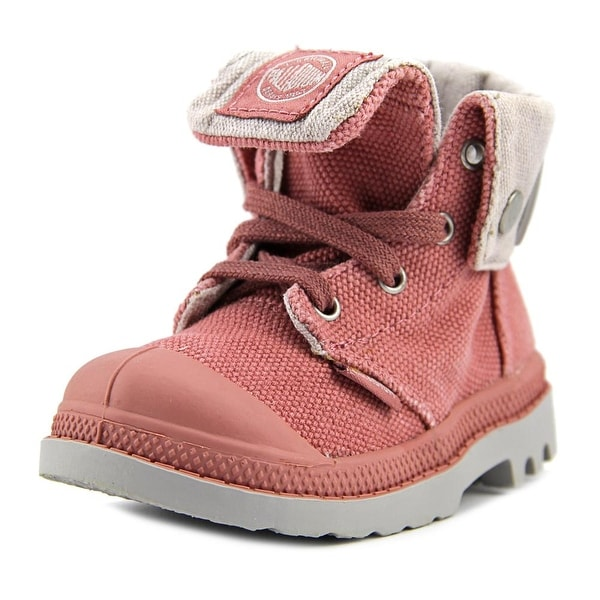 Palladium Baggy Zipper II Round Toe Canvas Boot