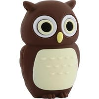 Bone Collection D10021BR 8 GB Owl USB Drive, Brown