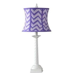 Kangaroo LP20-IZPL Candy Cane Lamp - Izzy Perfectly Plum