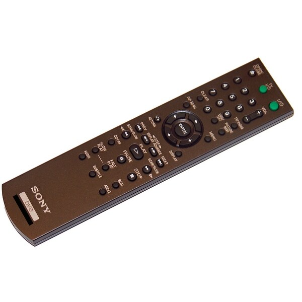 OEM Sony Remote Control Originally Supplied With: DVPNS700H/B, DVP-NS700H/B
