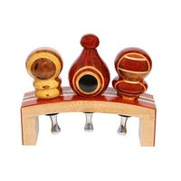 Wine Bottle Stopper Stand for 3 Stoppers