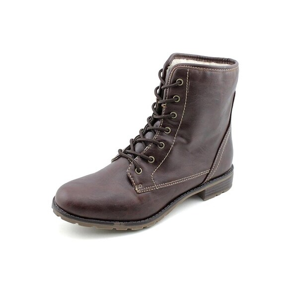 Sporto Julie Women Round Toe Synthetic Brown Ankle Boot