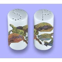 Carolines Treasures 8549SP Turtle Ceramic Salt Pepper Shakers