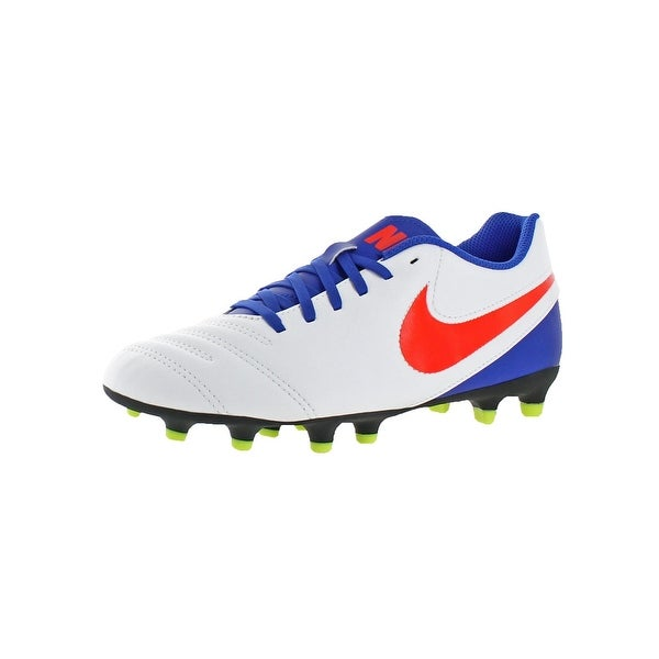 Nike Womens Tiempo Rio III FG Cleats Soccer Lightweight - 7 medium (b,m)