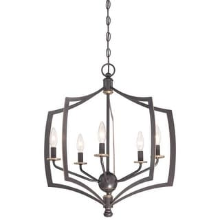 Minka Lavery 4375-579 5 Light Single Tier Chandeliers from the Middletown Collection