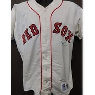 Signed Clemens Roger Boston Red Sox Roger Clemens Boston Red Sox Authentic Jersey Size 40 Signature