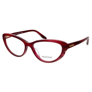 Valentino V2635 618 Red Cat Eye Valentino Eyewear
