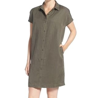 Eileen Fisher NEW Green Oregano Women's Size XS Collared Shirt Dress|https://ak1.ostkcdn.com/images/products/is/images/direct/71d6e90a8acafb650bfd3c3e0e8bb7645b852525/Eileen-Fisher-NEW-Green-Oregano-Women%27s-Size-XS-Collared-Shirt-Dress.jpg?impolicy=medium