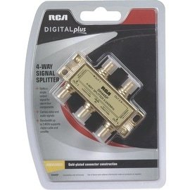 RCA 4-Way 2.4Ghz Splitter