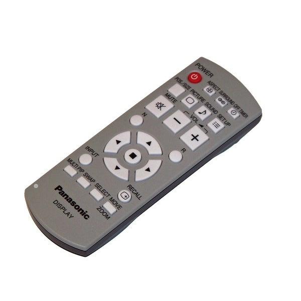 OEM Panasonic Remote Control Originally Shipped With: TH50PH11UK, TH-50PH11UK
