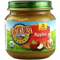 Earth's Best - Organic Apples ( 12 - 4 OZ)