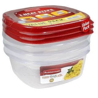 Rubbermaid 1777166 Durable Food Container, 3.2 Cup Capacity|https://ak1.ostkcdn.com/images/products/is/images/direct/71d9297f95a9e8c97969c7b20e0b0bc2cf36f303/Rubbermaid-1777166-Durable-Food-Container%2C-3.2-Cup-Capacity.jpg?impolicy=medium
