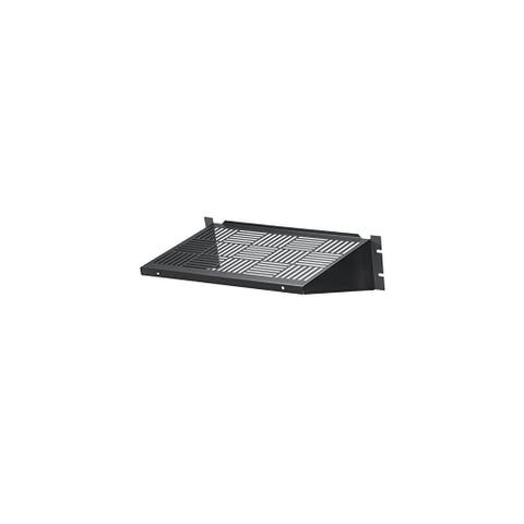 Black Box Network Services Rackmount Vented Fixed Shelf 35-lb. Cap Black Box Network Services Rackmount Vented Fixed Shelf