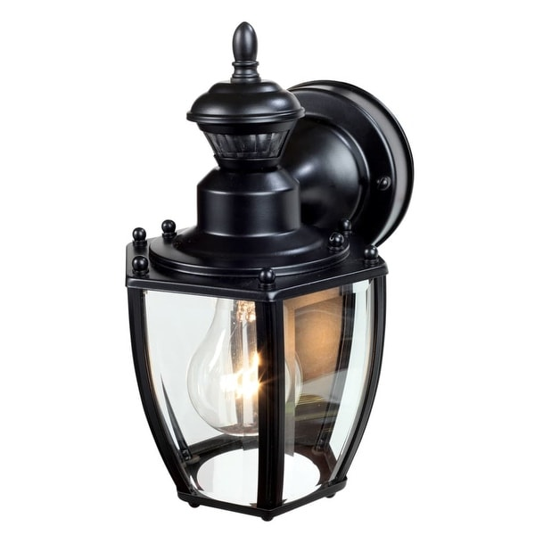 "Heath Zenith HZ-4170 1-Light 7"" High Outdoor Wall Sconce - Motion Sensor Activated - N/A"