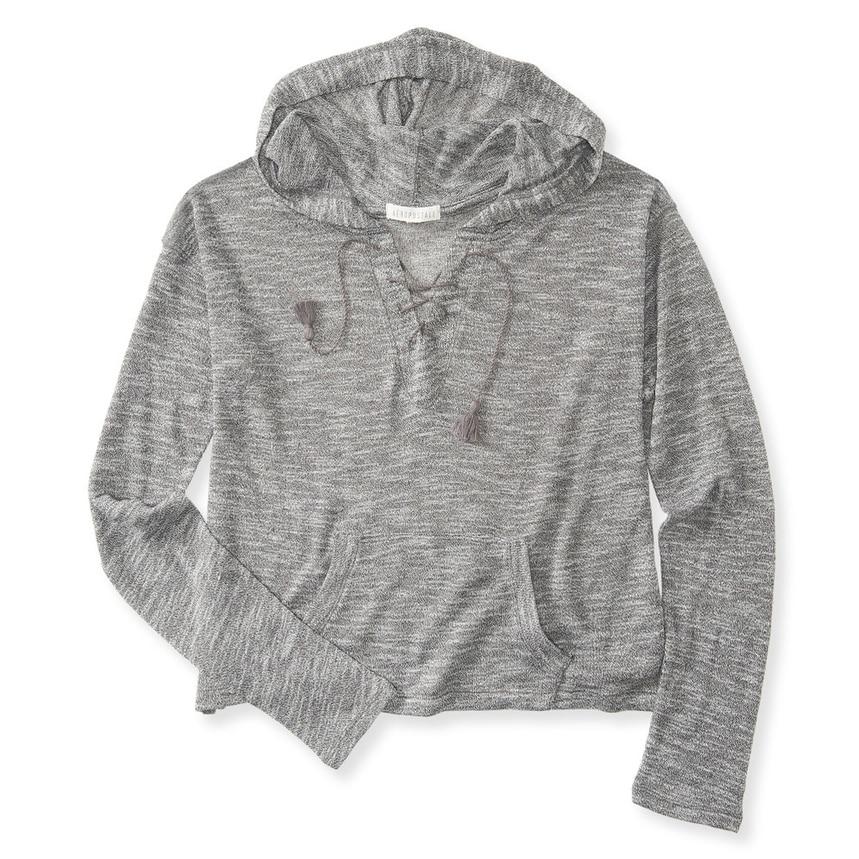Aeropostale Womens Camo Fz Hoodie Sweatshirt