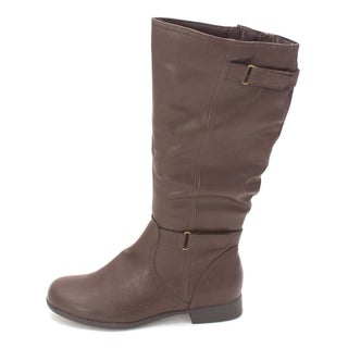 Hush Puppies Womens Motive 16 Almond Toe Mid-Calf Fashion Boots