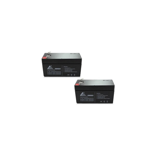 Replacement AGM SLA Battery 12V-1.3Ah 2-Pack Replacement AGM SLA Battery