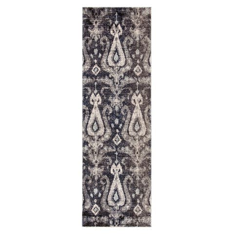 The Curated Nomad Lilah Ikat Indoor/ Outdoor Area Rug