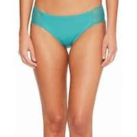 Isabella Rose Green Womens Size Small S Bikini Bottom Swimwear