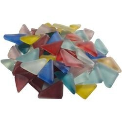 Assorted - Crystal Angles Frosted 1Lb