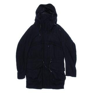 Zara Mens Wool Hooded Coat