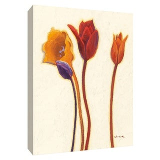 "PTM Images 9-154556  PTM Canvas Collection 10"" x 8"" - ""Tulipan III"" Giclee Tulips Art Print on Canvas"