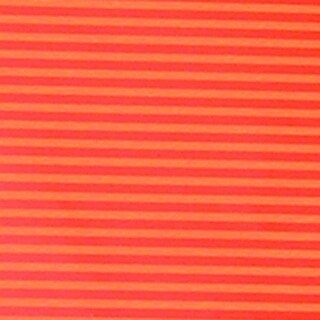 "Bicolor Orange and Yellow Striped Gift Wrap Craft Paper 27"" x 328'"