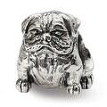Sterling Silver Reflections Bulldog Bead (4mm Diameter Hole) - Thumbnail 0