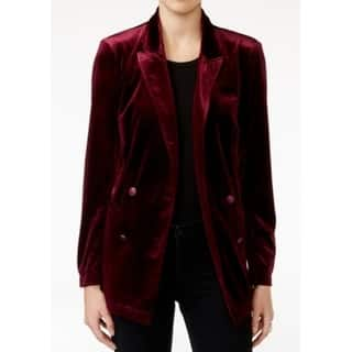 Fair Child NEW Wine Red Womens Small S Velour Double-Breasted Blazer|https://ak1.ostkcdn.com/images/products/is/images/direct/71e3542c7a70fc13bb722a5fd5ba43b91af5944d/Fair-Child-NEW-Wine-Red-Womens-Small-S-Velour-Double-Breasted-Blazer.jpg?impolicy=medium