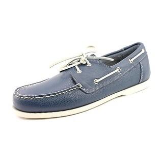 Cole Haan Dominick Boat.II Men Moc Toe Leather Boat Shoe