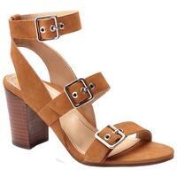 Vionic Women's Carmel Ankle-Strap Sandal Saddle