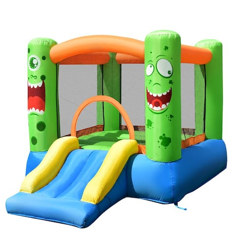 Costway Inflatable Bounce House Jumper Castle Kids Playhouse w/